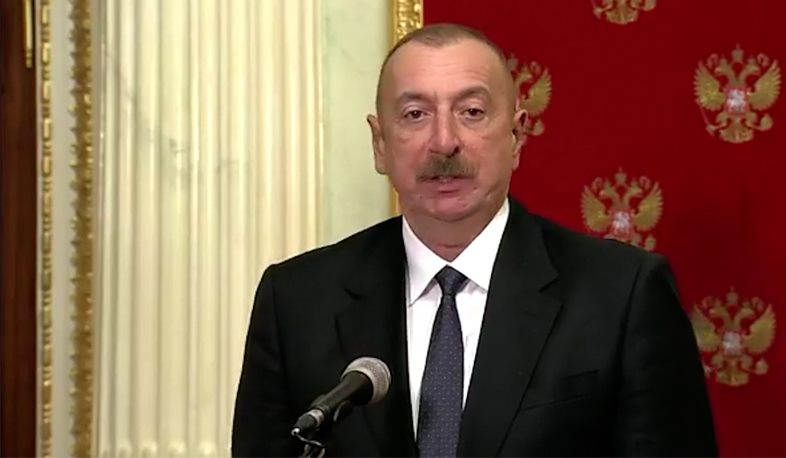 The opening of transport communication coincides with the interests of the peoples of Azerbaijan, Armenia, Russia and our neighbors. Aliyev