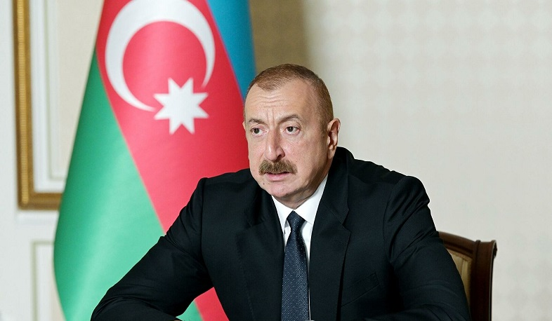 Armenia will have a railway connection with Russia. Aliyev
