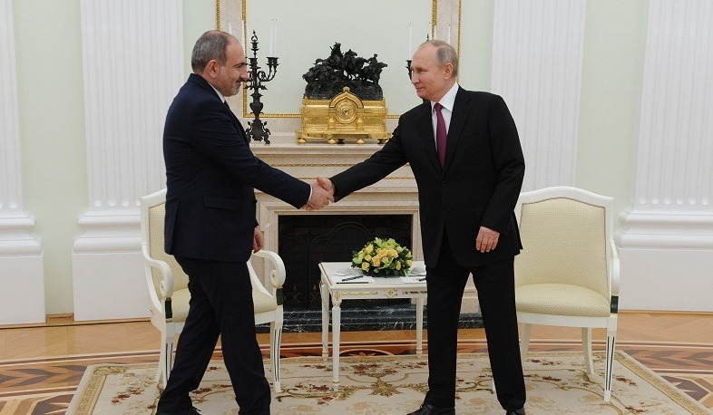 Putin called relations with Armenia allied