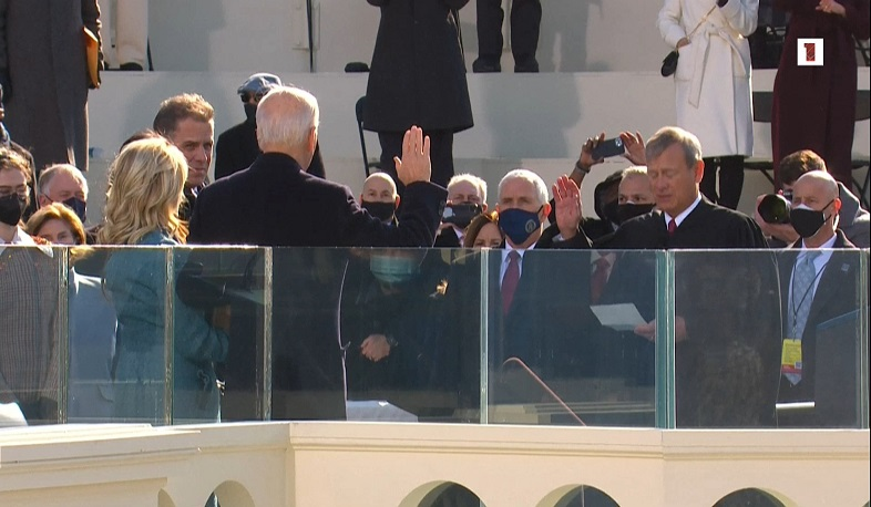 Joe Biden has been sworn in as the 46th president of the United States