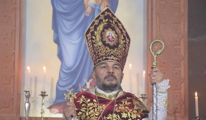 Bishop Vrtanes Abrahamyan has been appointed Primate of the Artsakh Diocese