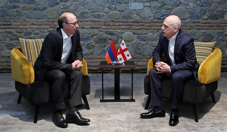 Foreign Ministers of Armenia and Georgia held a meeting in Tsinandali