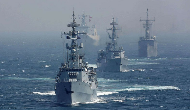 Naval exercises of 45 countries started in the Arabian Sea
