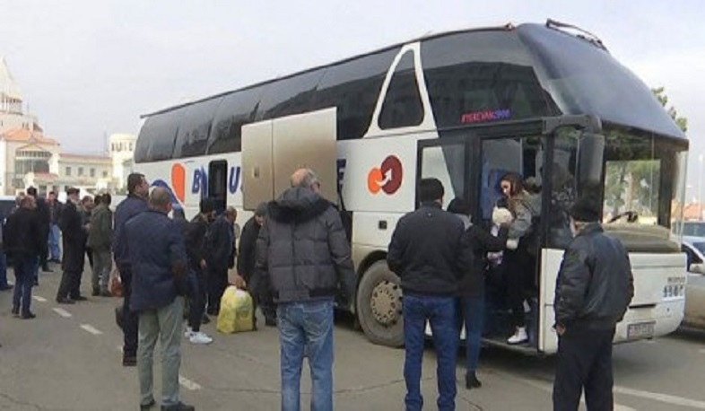 Within a day, 19 displaced people returned to Artsakh from Armenia