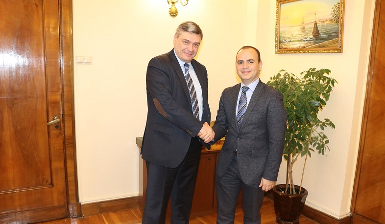 Zareh Sinanyan discussed issues related to the restoration of Artsakh with the Russian Deputy Foreign Minister