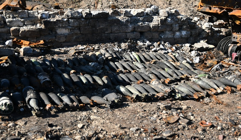 Weapons found in Khnatsakh, Aygestan communities of Askeran region to be destroyed