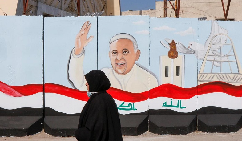Iraq welcomes Pope