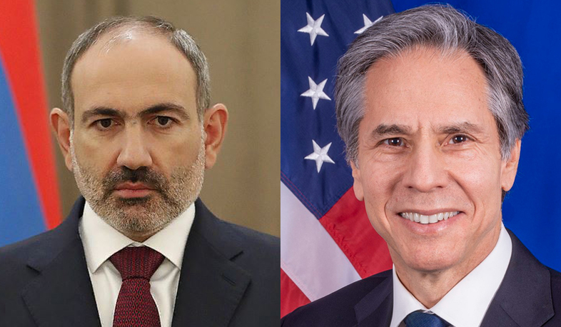 PM Pashinyan holds phone conversation with U.S. Secretary of State Antony J. Blinken