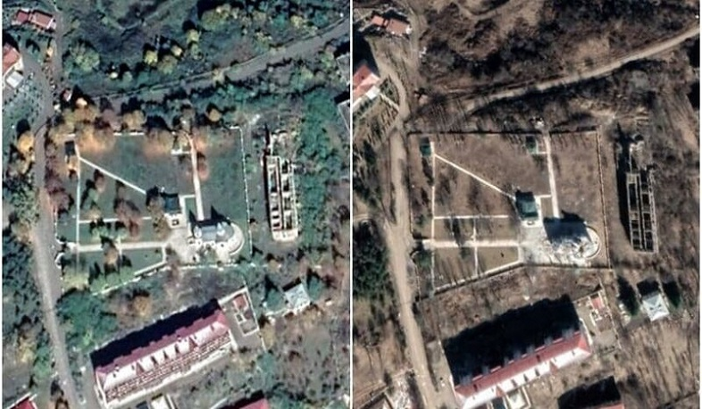 "Netherlands covered destruction of ""Kanach Zham"" (Green Chapel) Church in Shushi by Azerbaijan"