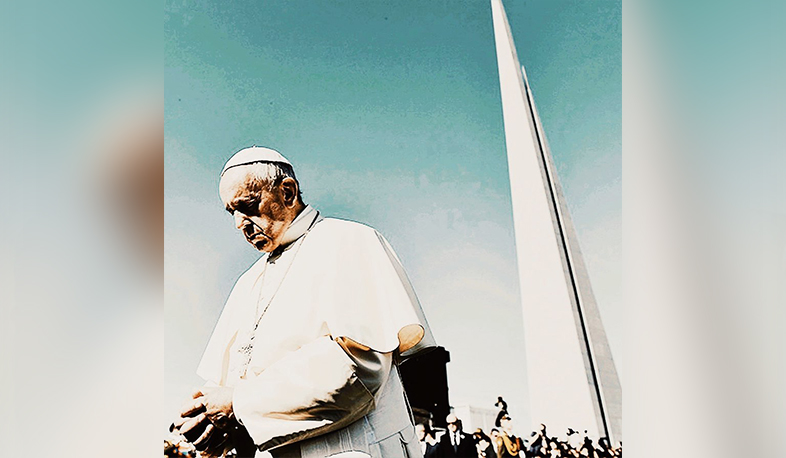 Film about the Pope to tell about his efforts to recognize the Armenian Genocide