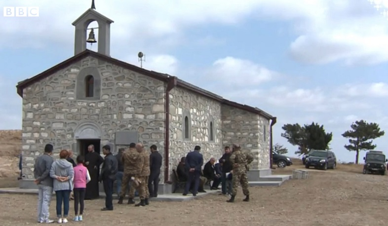 Nagorno-Karabakh: The mystery of the missing church, BBC