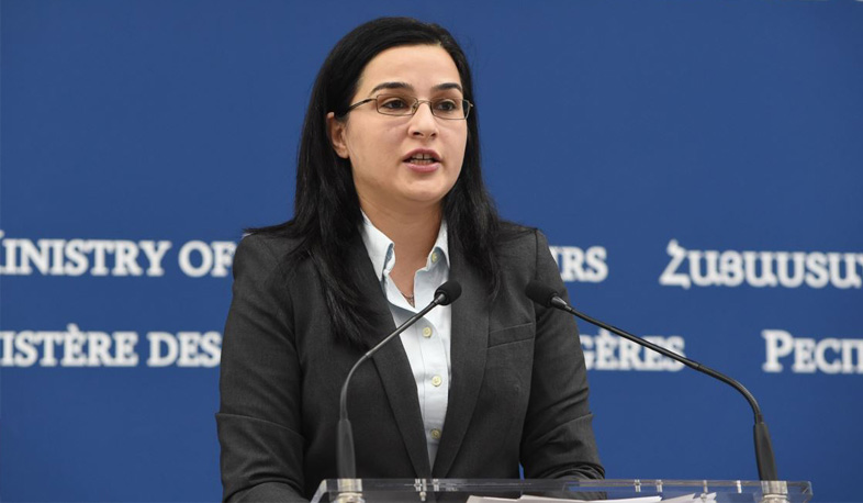 Azerbaijani side has made every effort to disrupt the implementation of demining programs in Armenia and Artsakh. Armenia Foreign Ministry Spokesperson