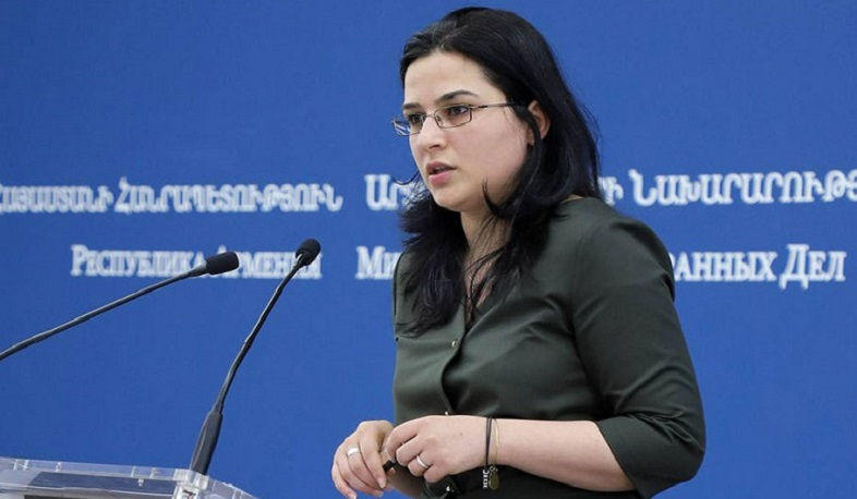 Aliyev's provocative statements undermine efforts to establish stability in the region: Armenian Foreign Ministry spokeswoman