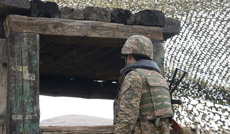 No incidents reported on Armenian-Azerbaijani state border: Ministry of Defense