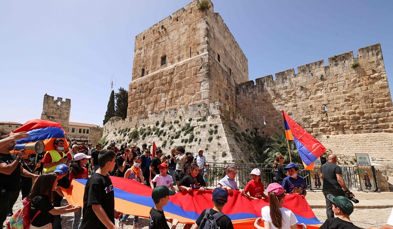 Israel is under pressure to recognize the Armenian Genocide: News Week
