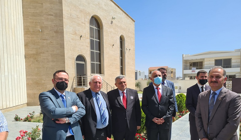 Memory of victims of the Armenian Genocide honored in Erbil, Iraq