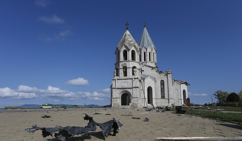 Azerbaijan declares Shushi St. Ghazanchetsots Church 'Albanian' and starts 'renovating' it