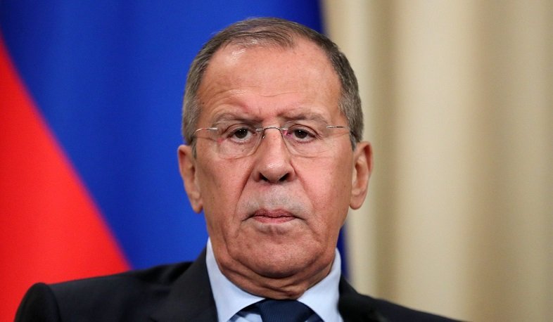 Russian Foreign Minister Sergey Lavrov will arrive in Armenia