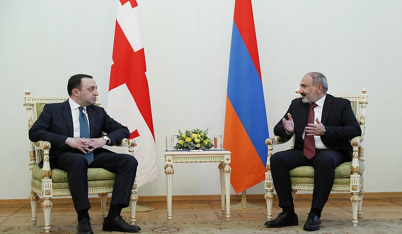 We must support each other in ensuring the development of our states: Nikol Pashinyan and Irakli Garibashvili had tête-à-tête meeting