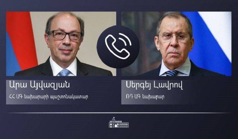 Ara Aivazian informed Sergey Lavrov about latest border incident