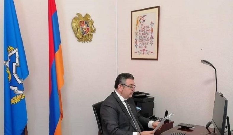 Armenia's Permanent Representative to CSTO presents Azerbaijani provocative actions in Syunik province at CSTO Permanent Council session