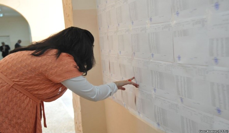 Total number of voters in Armenia is 2 million 583 thousand 823