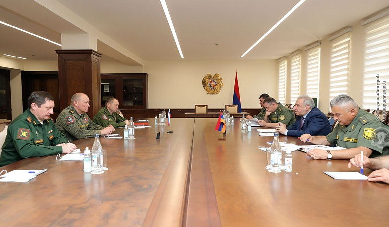Vagharshak Harutyunyan and Alexander Dvornikov discussed the situation in Syunik