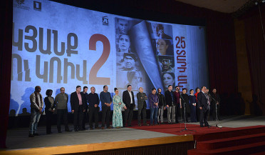 Sequel of The Line - a film vying for the title of the best Armenian movie- appears on big screen