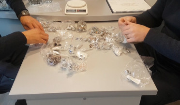 SRC discovered 4 kg of undeclared jewelry