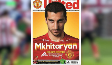 My dream has now come true: Henrikh Mkhitarya on the cover of MU official magazine