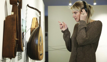 Germany's delegate at Eurovision 2017 Levina visits Komitas Museum-Institute