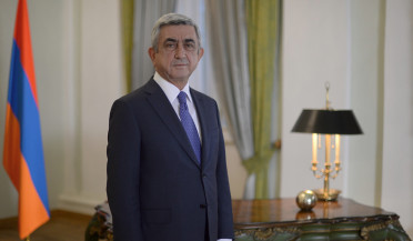 RA President Serzh Sargsyan congratulates Yezidi community on their New Year