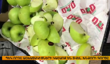 Criminal case initiated on illegal import of Azerbaijani apples