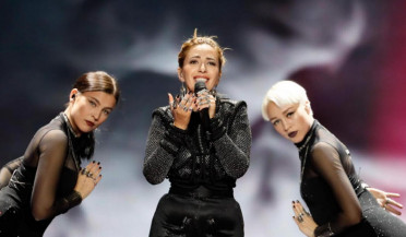Armenian symbols at Eurovision 2017: Artsvik's second Eurovision rehearsal took place