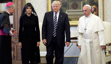 Trump'd visit to Vatican
