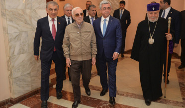 For You, Aznavour concert took place in Yerevan