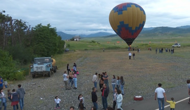 Air festival held in Stepanakert airport