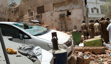 International happenings: suicide bomber blows up residential building in Mecca