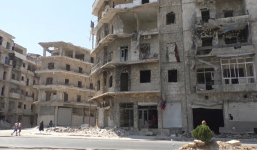 Shops destroyed in war reopened in Aleppo