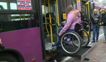 People using wheelchairs have no possibility of holidays in Armenia