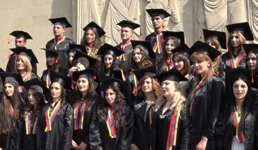 First post-graduates of Shirak State University