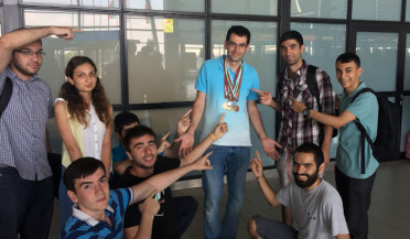University team returns with six medals