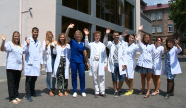 European students specializing thanks to Armenian doctors' experience