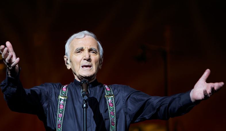 Aznavour preparing for new concerts