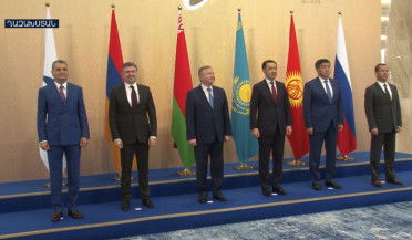 Eurasian inter-government council session starts in Astana