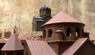 Armenian church-building evolution in miniature