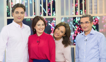 Photo series: Early in the Morning with new cast of hosts, Ordyan on First Channel