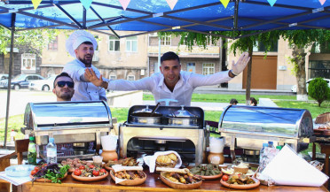 First restaurant dishes festival in Yerevan