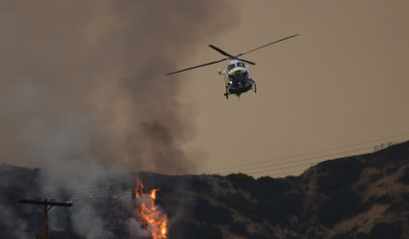 Wildfire in Los Angeles Area