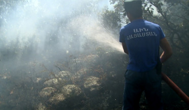 Byurakan wildfire is extinguished
